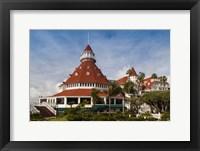 Framed Hotel del Coronado, Coronado, San Diego County