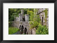 Framed Ballysaggartmore Towers, Lismore, County Waterford, Ireland