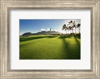 Framed Golf Course, Kauai Lagoons, Kauai, Hawaii