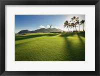 Framed Golf Course, Kauai Lagoons, Kauai, Hawaii