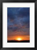 Framed Cloudy Sunset Sky, Ndutu, Ngorongoro Conservation Area, Tanzania