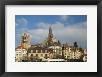 Framed Cathedral, Lausanne, Switzerland