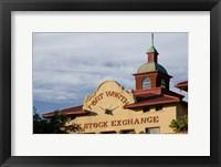 Framed Fort Worth Livestock Exchange, Fort Worth, Texas