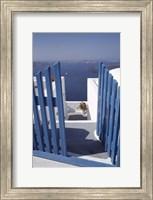 Framed Santorini,  Greece