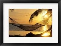 Framed Hammock at Sunset