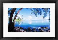 Framed Rope Swing Over Water, Florida Keys