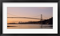 Framed Vancouver, Lions Gate Bridge