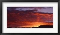 Framed Grand Canyon Sunrise, AZ