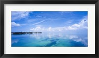 Framed Cloudy Ocean, Florida Keys, Florida