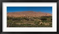 Framed Tinghir Oasis, Province De Tinghir, Souss-Massa-Draa, Morocco