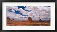 Framed Monument Valley Tribal Park, AZ