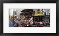 Framed Mardi Gras Festival, New Orleans, Louisiana
