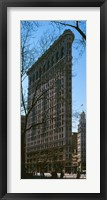 Framed Flatiron Building Manhattan, New York City, NY