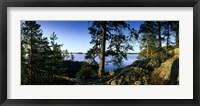 Framed Lake Saimaa, Puumala, Finland