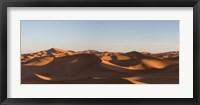Framed Erg Chebbi Dunes Errachidia Province, Meknes-Tafilalet, Morocco