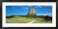 Framed Wyoming, Devils Tower National Monument