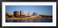 Framed Milwaukee Art Museum, Milwaukee, WI