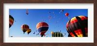 Framed International Balloon Festival, Albuquerque, New Mexico