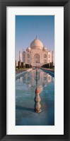 Framed Taj Mahal Panel