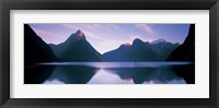 Framed Milford Sound, New Zealand