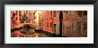 Framed Building Reflections In Water, Venice, Italy