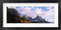 Framed Watchman, Zion National Park, Utah