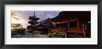 Framed Kiyomizu-Dera Temple, Kyoto, Japan