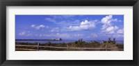 Framed Anna Maria Island City Pier, Tampa Bay, Florida