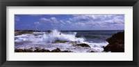 Framed Coastal Waves, Cozumel, Mexico