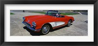 Framed 1959 Corvette