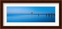 Framed Oil Rig in the Gulf Shores, Baldwin County, Alabama
