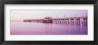 Framed Gulf State Park Pier, Gulf Shores, Baldwin County, Alabama