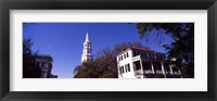 Framed St. Michael's Episcopal Church, Charleston, South Carolina