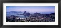 Framed View of Rio De Janeiro, Brazil