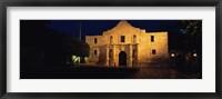 Framed Alamo, San Antonio Missions National Historical Park, Texas