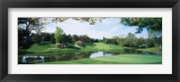 Framed Congressional Country Club, Bethesda, Maryland