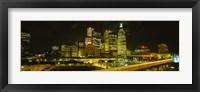Framed Gardiner Expressway at Nighttime, Toronto, Canada