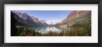 Framed Saint Mary Lake, Montana