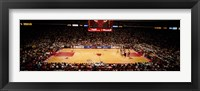Framed NBA Finals Bulls vs Suns, Chicago Stadium