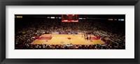 Framed NBA Finals Bulls vs Suns, Chicago Stadium
