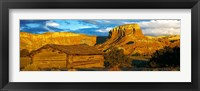 Framed Ghost Ranch at Sunset, Abiquiu, New Mexico