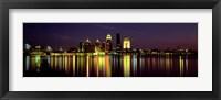 Framed Louisville, KY at Night