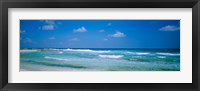 Framed Waves in Cancun, Mexico