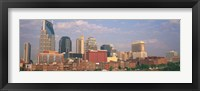 Framed Skyline of Nashville, TN