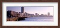 Framed Avenue de Maceo, Havana, Cuba