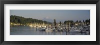 Framed Gig Harbor, Pierce County, Washington State
