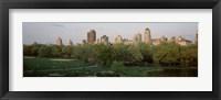 Framed Central Park,e New York City, NY