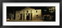 Framed Alamo, San Antonio, TX