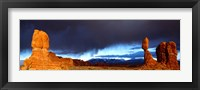 Framed Thunderstorm Arches National Park, UT