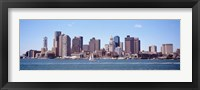 Framed Waterfront Buildings, Boston, Massachusetts